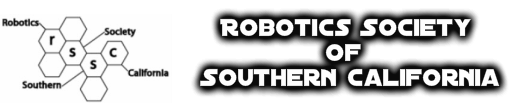 Robotics Society of Southern California Monthly Meeting logo